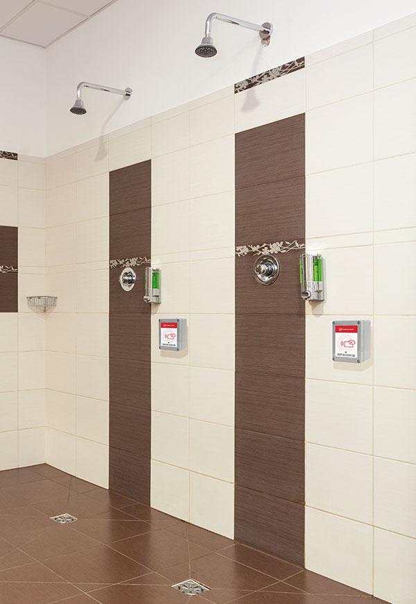Attivatore di utenza con EASY CARD doccia